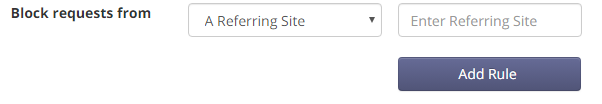Referring Site Rules